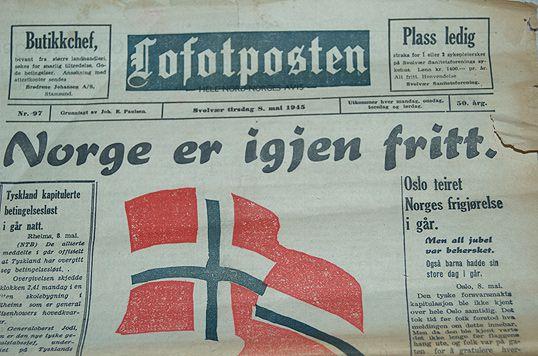 Norge er fri