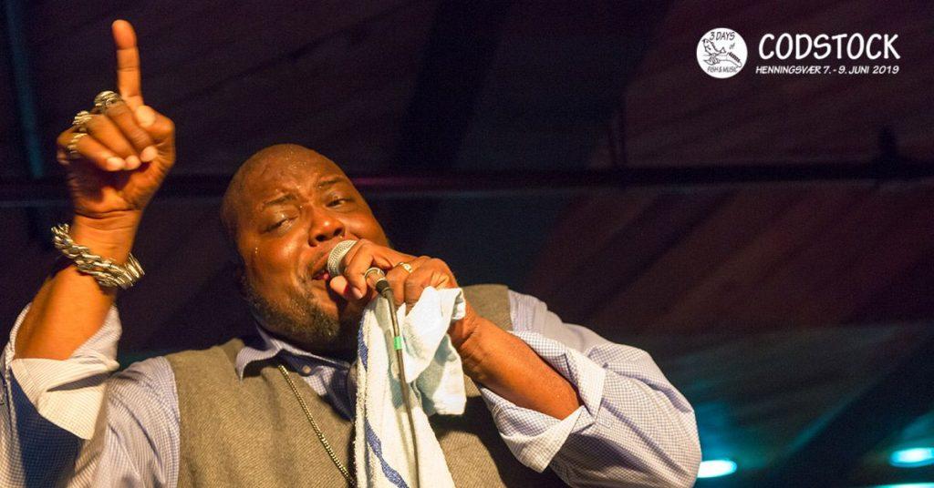 En av de virkelig store artistene under årets Codstock festival er Sugaray Rayford