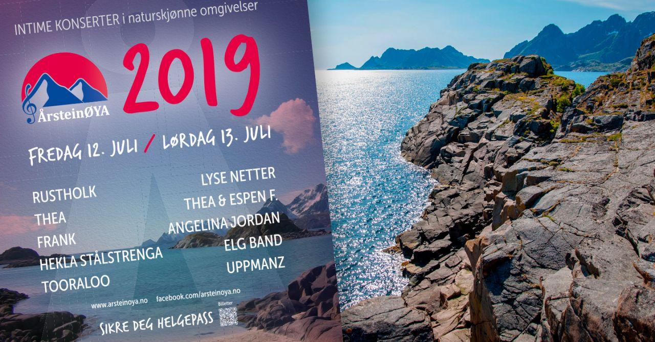 Plakat for Årsteinøya 2019