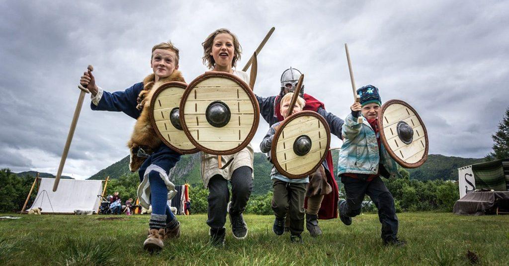 Coverbilde - Vikingfestivalen 2018 i Lofoten