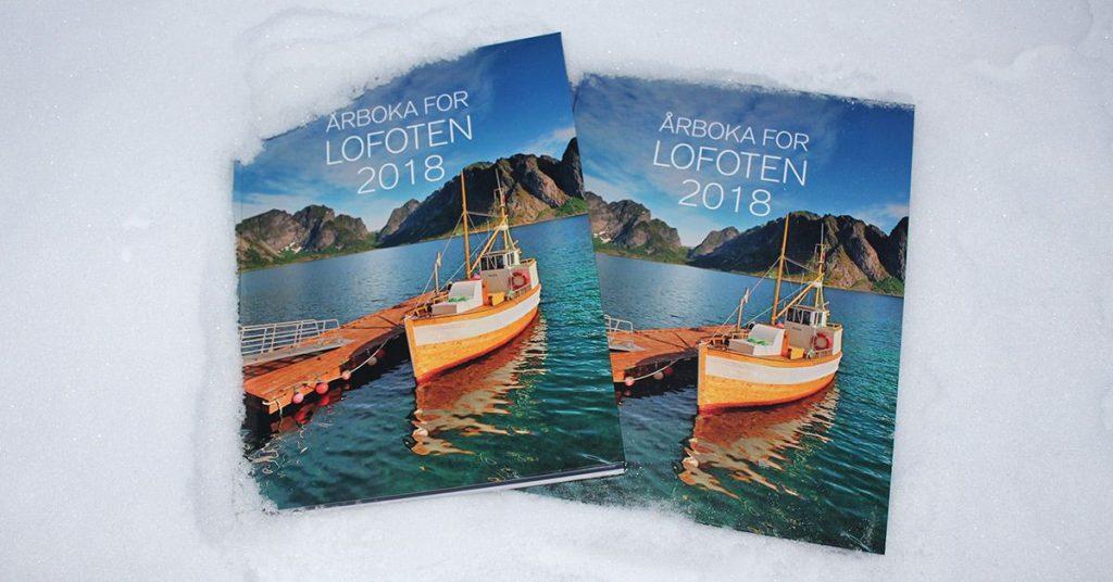 Bilde av omslaget til årboka for Lofoten 2018