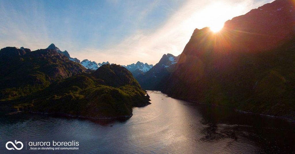 Trollfjorden - Downsizing filminnspilling