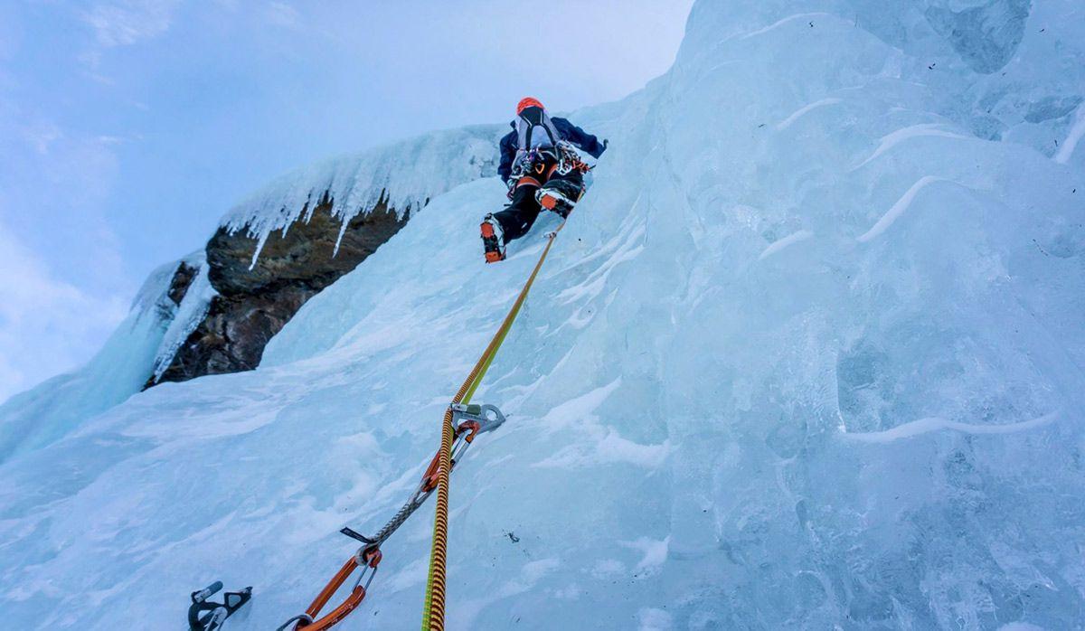 Isklatring i Lofoten