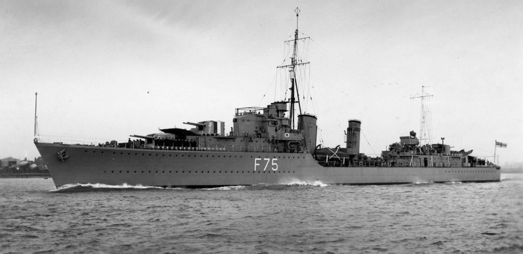 HMS Eskimo februar 1939