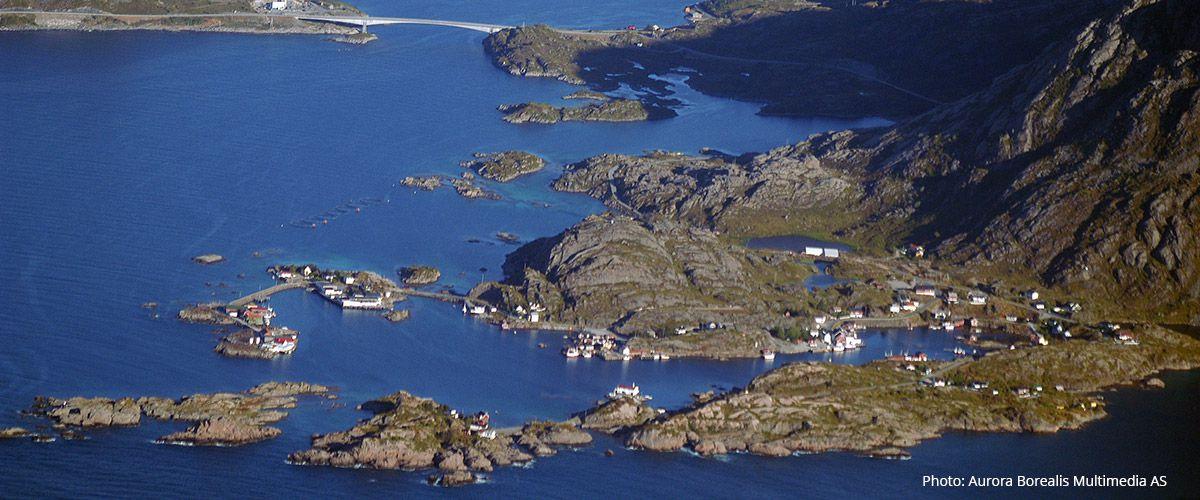 Sund på Flakstadøya