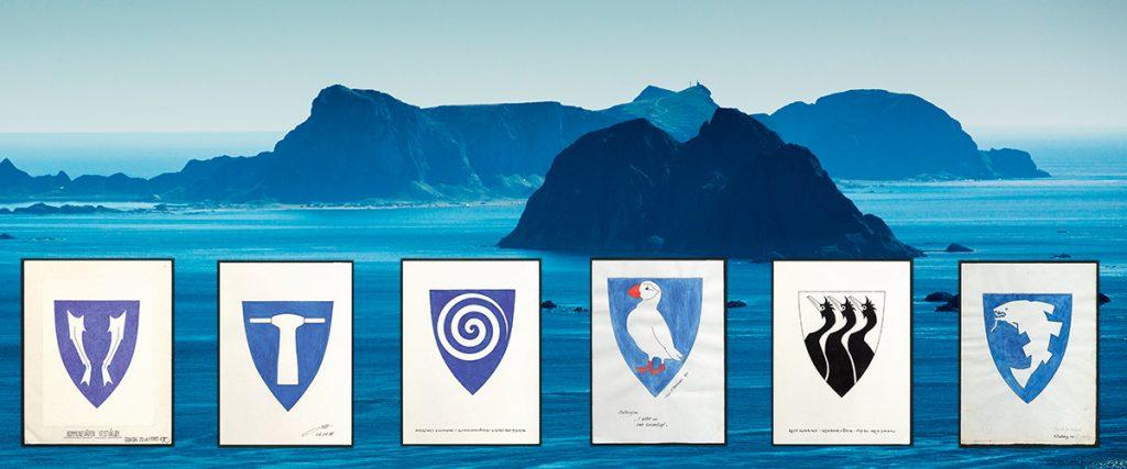 Kommunevåpnene i Lofoten