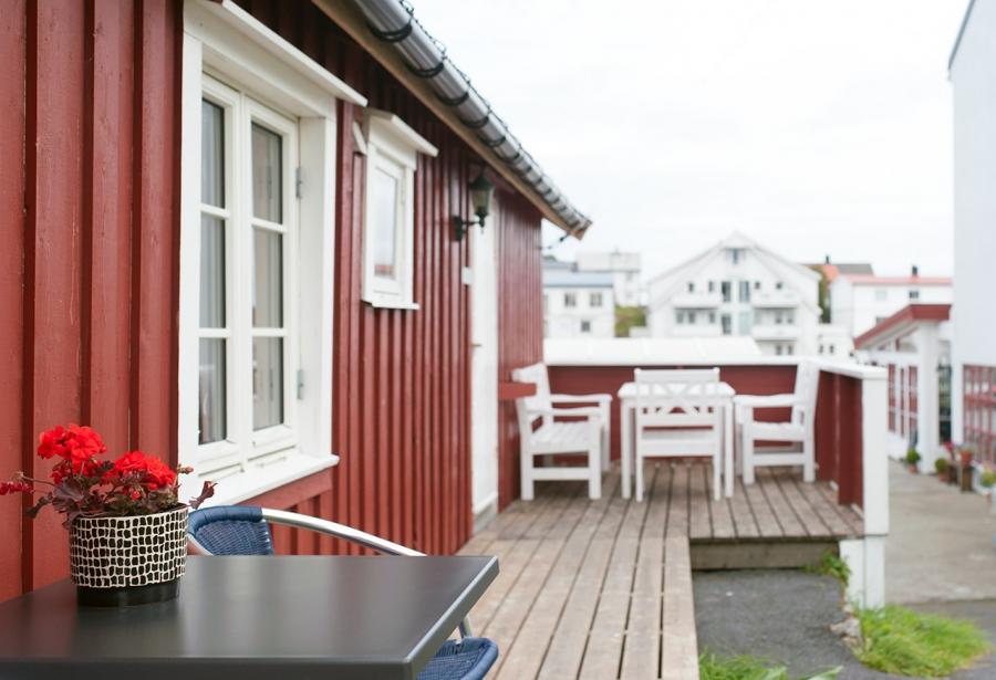 Fiskekroken Rorbuer i Henningsvaer