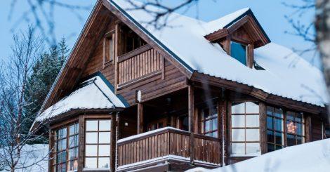 En av de mange hyttene du kan leie hos Kongsmark Hytteferie