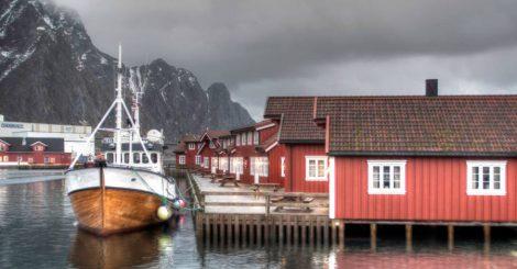Anker Brygge i Svolværhavnen