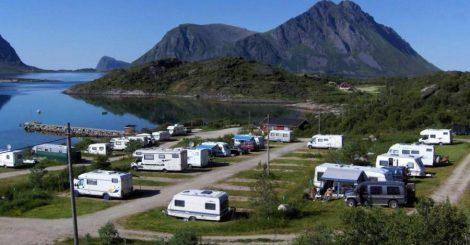 Lyngvær Lofoten Bobilcamping