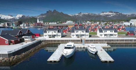 Svolvær Havn Rorbuer